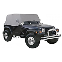 RT Off-Road CC10109 Cab Cover - Gray, Direct Fit, Sold individually