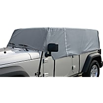RT Off-Road CC10609 Truck Cab Top Cover - Gray, Fabric, Direct Fit, Sold individually