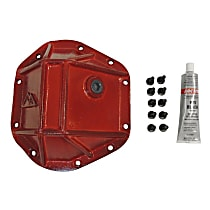 RT Off-Road RT20026 Differential Cover - Powdercoated red, Steel, Direct Fit, Sold individually