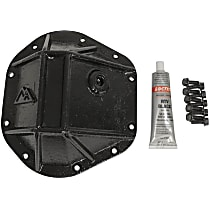 RT20032 Differential Cover - Powdercoated Black, Steel, Direct Fit, Sold individually