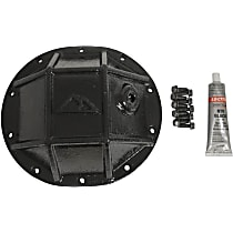 RT20033 Differential Cover - Powdercoated Black, Steel, Direct Fit, Sold individually