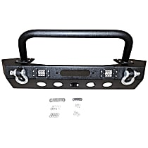 RT20044 RT Off-Road Heavy Duty Front Bumper, Powdercoated Textured Black