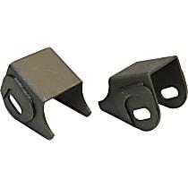 RT21015 Control Arm Bracket - Black, Steel, Direct Fit, Set of 2