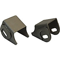 RT Off-Road RT21015 Control Arm Bracket - Black, Steel, Direct Fit, Set of 2