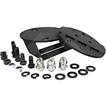 RT Off-Road RT26076 Spare Tire Spacer - Black, Direct Fit