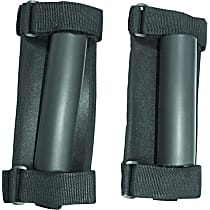 RT27006 Grab Handle - Black, Nylon, Direct Fit, Set of 2