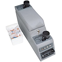 RT27008 Console - Gray, Direct Fit, Sold individually