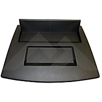 RT27022 Dash Panel - Black, Plastic, Direct Fit