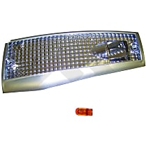 RT28025 Front, Passenger Side Side Marker, With bulb(s)