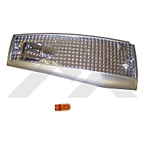 RT28026 Front, Driver Side Side Marker, With bulb(s)