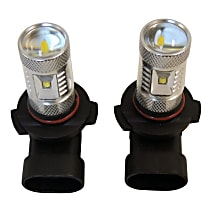 RT Off-Road RT28047 Fog Light Bulb - LED, Direct Fit, Set of 2