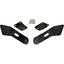 RT28082 Light Bar Mounting Bracket - Textured Black, Steel, Direct Fit