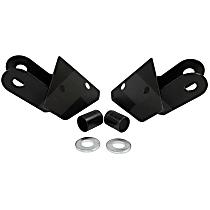 RT30010 Mirror Relocation Bracket - Black, Metal, Direct Fit
