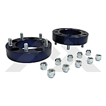 RT32005 Wheel Spacer - Blue, Aluminum, Direct Fit, Set of 2