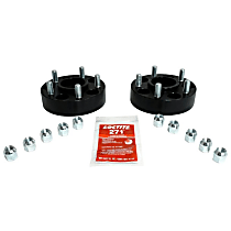 RT Off-Road RT32012 Wheel Spacer - Anodized Black, Aluminum, Direct Fit, Set of 2