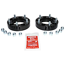 RT Off-Road RT32014 Wheel Spacer - Anodized Black, Aluminum, Direct Fit, Set of 2