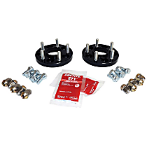RT32016 Wheel Spacer - Black, Aluminum and Steel, Direct Fit, Sold individually