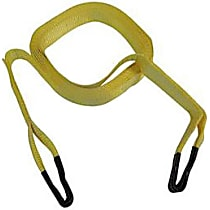 RT Off-Road RT33018 Tow Strap - Yellow, Nylon, Universal, Sold individually