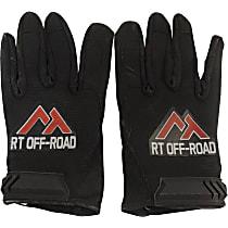 RT Off-Road RT33020 Gloves - Black, Nylon, Universal