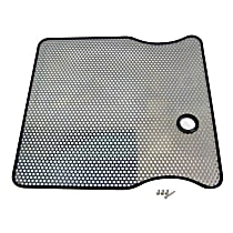 RT Off-Road RT34021 Grille Screen - Polished, Stainless Steel, Direct Fit