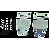 Liftgate Hinge - Polished, Stainless Steel, Direct Fit, Set of 2
