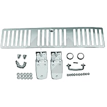 RT Off-Road RT34058 Hood Trim Kit - Polished, Stainless Steel, Direct Fit, Kit