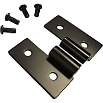 RT34092 Door Hinge - Black, Stainless Steel, Direct Fit, Set of 2