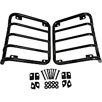 RT34102 Tail Light Guard, Stainless Steel, Set of 2