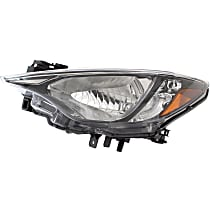 Driver Side Headlight, Without bulb(s) - (Base/L/LE/Premium Model), Sedan, CAPA CERTIFIED