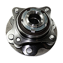 Front, Driver or Passenger Side Wheel Hub and Bearing Assembly For RWD