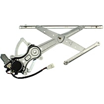 Front, Passenger Side Power Window Regulator, With Motor - Crew Cab
