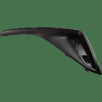 Rear Passenger Side Bumper Reflector Cover, Textured Black, Turkey Built Vehicles