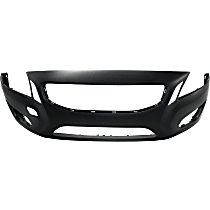 Front Bumper Cover, Primed - w/o Headlight Washer Holes, 2.5L/3.0L Engine, Except R-Design Model, CAPA CERTIFIED