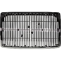 Grille Assembly - Chrome Shell and Insert, without Bug Screen