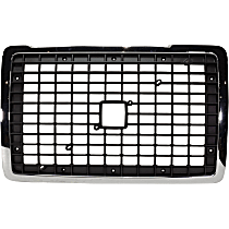 Grille Assembly - Chrome Shell with Painted Black Insert, without Bug Screen