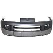 Front Bumper Cover, Primed - Fits Model w/o Red Line
