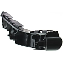 Front, Passenger Side Bumper Bracket, With Support Cover