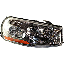 Passenger Side Headlight, With bulb(s) - Sedan/Wagon