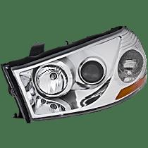 Driver Side Headlight, With bulb(s) - Sedan/Wagon