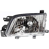 Driver Side Halogen Headlight, With bulb(s)