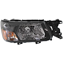 Passenger Side Headlight, With bulb(s) - 2005-2005 Subaru Forester