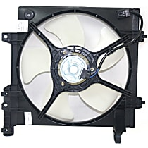 OE Replacement Radiator Fan - Fits 2.5L, Driver Side