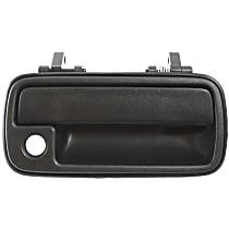 Front, Passenger Side Exterior Door Handle, Textured Black - 4-Door Models