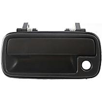 Front, Driver Side Exterior Door Handle, Textured Black - 4-Door Models