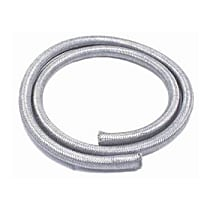 Fuel Line - Rubber with braided stainless steel cover, Universal, Sold individually
