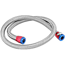 29490 Fuel Line - Rubber with braided stainless steel cover, Universal, Kit