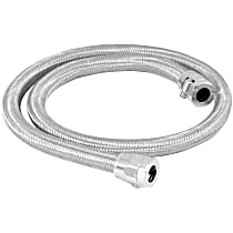 Fuel Line - Natural, Rubber with braided stainless steel cover, Universal, Kit