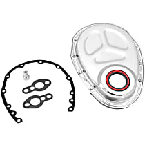 Spectre 42353 Timing Cover - Steel, Direct Fit, Kit
