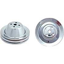 Water Pump Pulley - Steel, Direct Fit, Sold individually