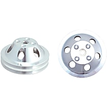 Water Pump Pulley - Aluminum, Direct Fit, Sold individually